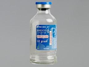 ampicillin 10 gram solution for injection