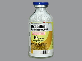 oxacillin 10 gram solution for injection