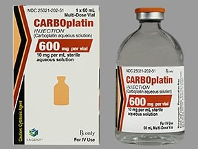 carboplatin 10 mg/mL intravenous solution