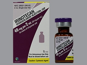 irinotecan 40 mg/2 mL intravenous solution