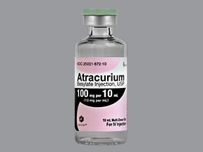 atracurium 10 mg/mL intravenous solution