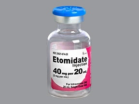 etomidate 2 mg/mL intravenous solution