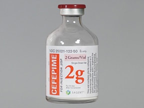 cefepime 2 gram solution for injection