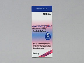 Rebetol 40 mg/mL oral solution