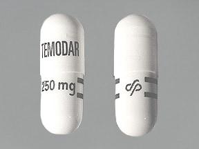 Temodar 250 mg capsule
