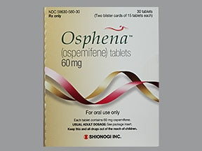 Osphena 60 mg tablet