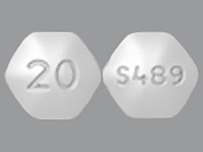 Vyvanse 20 mg chewable tablet