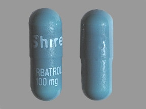 Carbatrol 100 mg capsule, extended release
