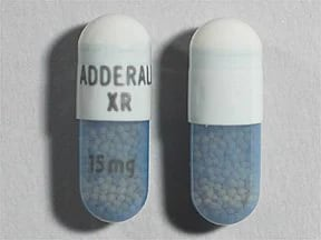 Adderall XR 15 mg capsule,extended release