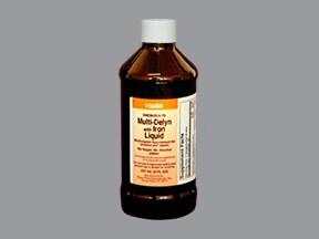 Multi-Delyn with Iron 10 mg iron/5 mL oral liquid