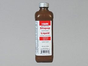 Children's Silapap 160 mg/5 mL oral liquid