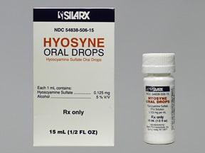 Hyosyne 0.125 mg/mL oral drops