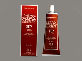 Drithocreme HP 1 % topical