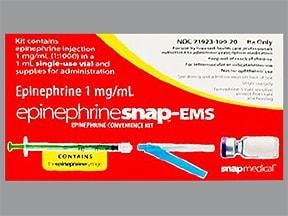 EpinephrineSnap-EMS 1 mg/mL injection kit