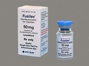 Fusilev 50 mg intravenous solution