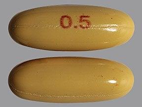 dutasteride 0.5 mg capsule