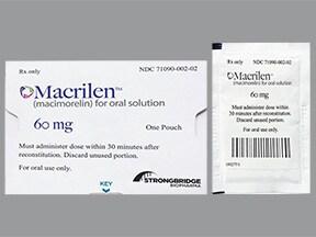 Macrilen 0.5 mg/mL oral solution