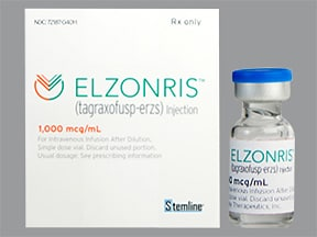 Elzonris 1,000 mcg/mL intravenous solution