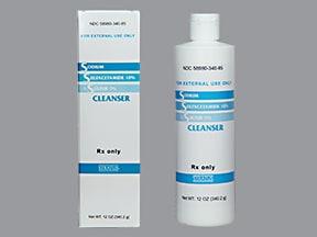 sulfacetamide sodium-sulfur 10 %-5 % (w/w) topical cleanser