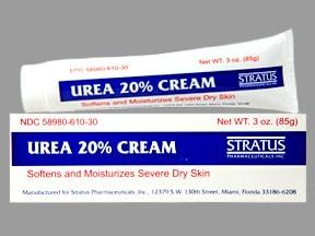 urea 20 % topical cream