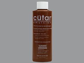 Cutar 7.5 % topical emulsion