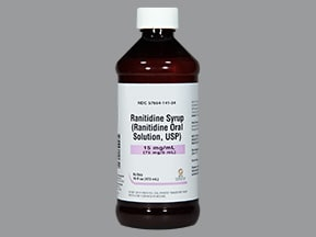 ranitidine 15 mg/mL oral syrup
