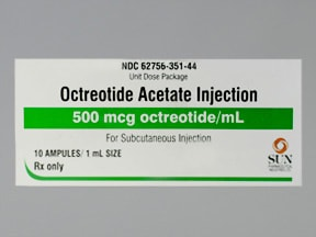 octreotide acetate 500 mcg/mL injection solution