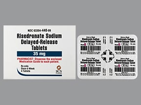 risedronate 35 mg tablet,delayed release