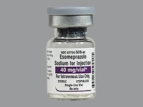 esomeprazole sodium 40 mg intravenous solution