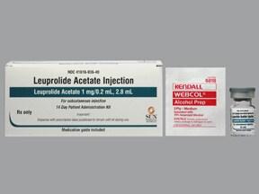 leuprolide 1 mg/0.2 mL subcutaneous kit
