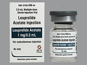 leuprolide 1 mg/0.2 mL subcutaneous kit