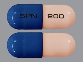 Trokendi XR 200 mg capsule, extended release