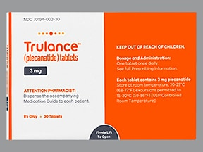 Trulance 3 mg tablet
