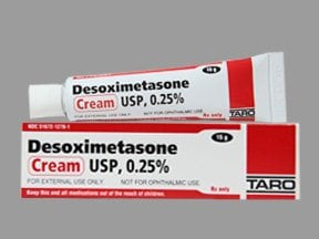 desoximetasone 0.25 % topical cream