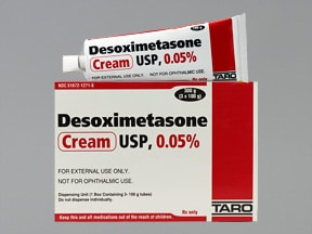 desoximetasone 0.05 % topical cream