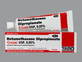 betamethasone dipropionate 0.05 % topical cream