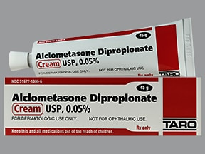 alclometasone 0.05 % topical cream