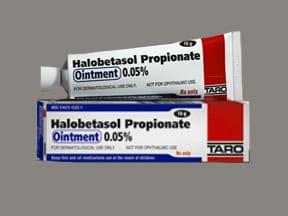 halobetasol propionate 0.05 % topical ointment