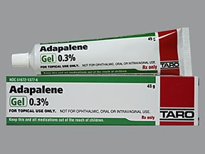 adapalene 0.3 % topical gel