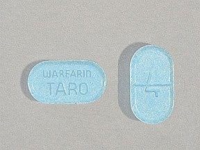 warfarin 4 mg tablet