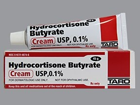 hydrocortisone butyrate 0.1 % topical cream