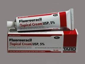 fluorouracil 5 % topical cream