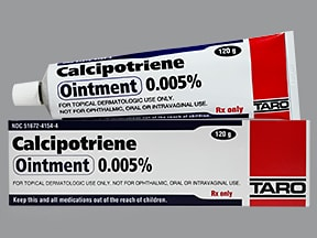 calcipotriene 0.005 % topical ointment