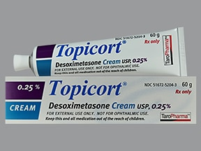 Topicort 0.25 % topical cream