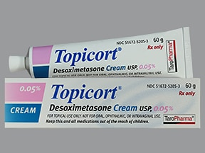 Topicort 0.05 % topical cream