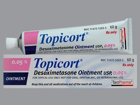 Topicort 0.05 % topical ointment