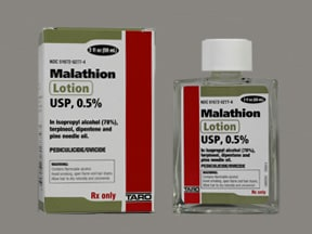 malathion 0.5 % lotion