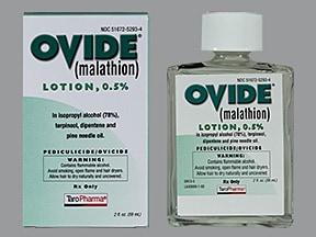 Ovide 0.5 % lotion