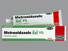 metronidazole 1 % topical gel