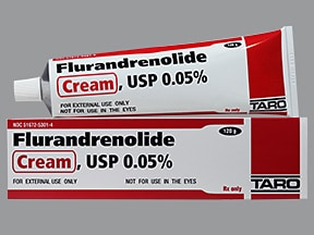 flurandrenolide 0.05 % topical cream